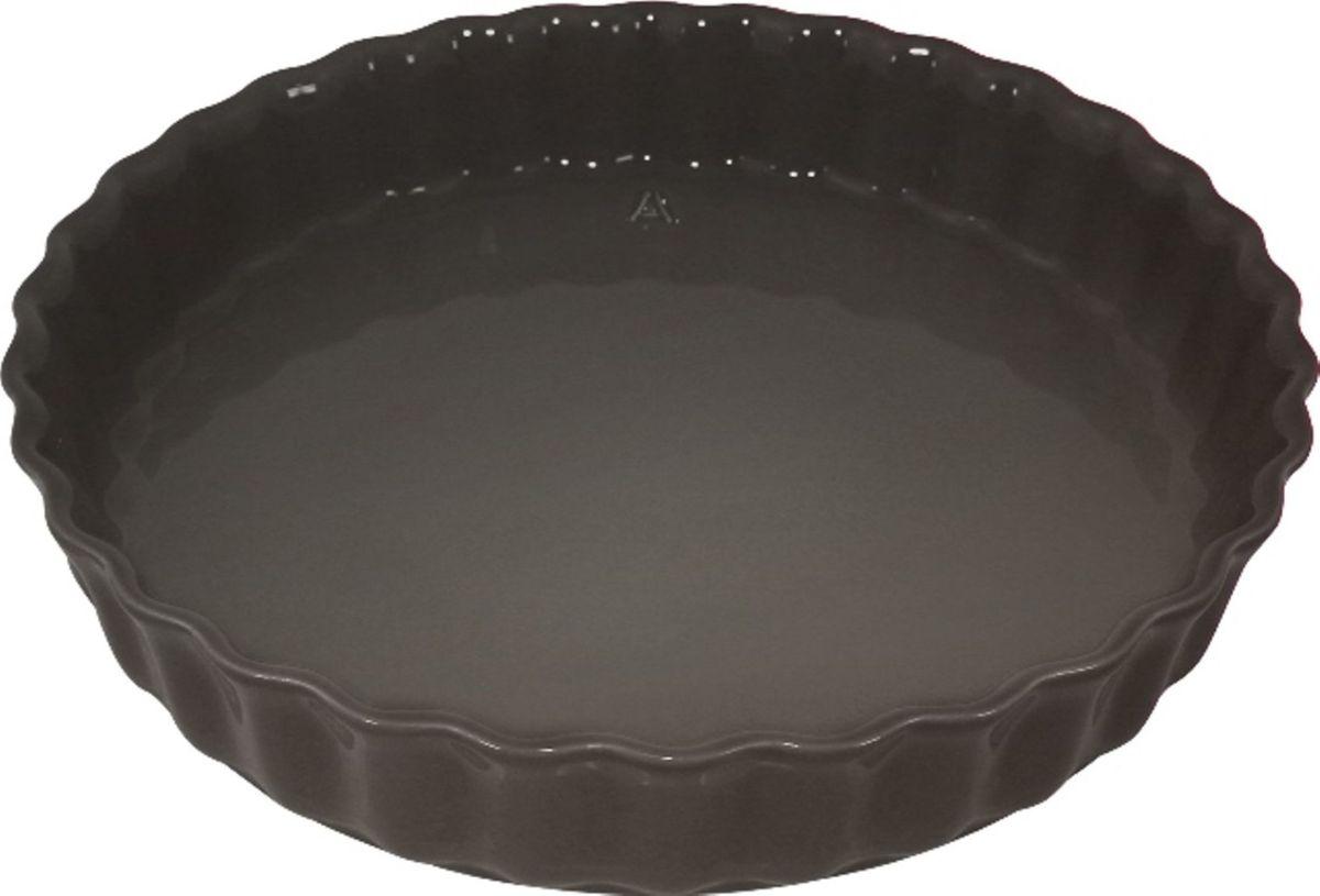 Форма для пирога Appolia Delices, цвет: темно-серый, 28 х 28 см011028044Благодаря большому разнообразию изящных форм и широкой цветовой гамме, коллекция DELICES предлагает всевозможные варианты приготовления блюд для себя и гостей. Выбирайте цвета в соответствии с вашими желаниями и вашей кухне. Закругленные углы облегчают чистку. Легко использовать. Большие удобные ручки. Прочная жароустойчивая керамика экологична и изготавливается из высококачественной глины. Прочная глазурь устойчива к растрескиванию и сколам, не содержит свинца и кадмия. Глина обеспечивает медленный и равномерный нагрев, деликатное приготовление с сохранением всех питательных веществ и витаминов, а та же долго сохраняет тепло, что удобно при сервировке горячих блюд.
