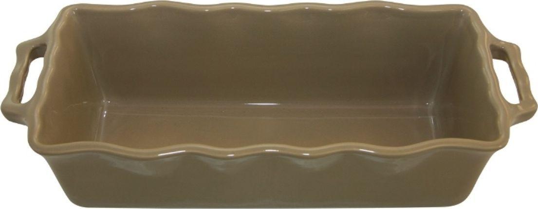 Форма для кекса Appolia Delices, цвет: песочный, 2 л112033019Благодаря большому разнообразию изящных форм и широкой цветовой гамме, коллекция DELICES предлагает всевозможные варианты приготовления блюд для себя и гостей. Выбирайте цвета в соответствии с вашими желаниями и вашей кухне. Закругленные углы облегчают чистку. Легко использовать. Большие удобные ручки. Прочная жароустойчивая керамика экологична и изготавливается из высококачественной глины. Прочная глазурь устойчива к растрескиванию и сколам, не содержит свинца и кадмия. Глина обеспечивает медленный и равномерный нагрев, деликатное приготовление с сохранением всех питательных веществ и витаминов, а та же долго сохраняет тепло, что удобно при сервировке горячих блюд.