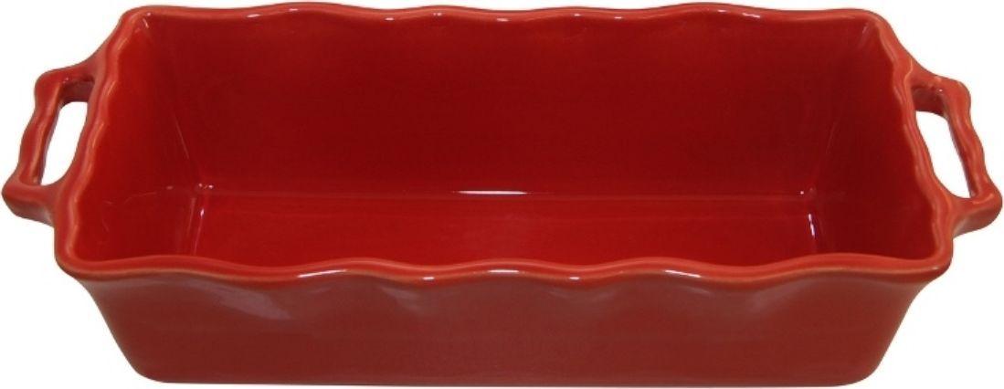 Форма для кекса Appolia Delices, цвет: красный, 2 л112033020Благодаря большому разнообразию изящных форм и широкой цветовой гамме, коллекция DELICES предлагает всевозможные варианты приготовления блюд для себя и гостей. Выбирайте цвета в соответствии с вашими желаниями и вашей кухне. Закругленные углы облегчают чистку. Легко использовать. Большие удобные ручки. Прочная жароустойчивая керамика экологична и изготавливается из высококачественной глины. Прочная глазурь устойчива к растрескиванию и сколам, не содержит свинца и кадмия. Глина обеспечивает медленный и равномерный нагрев, деликатное приготовление с сохранением всех питательных веществ и витаминов, а та же долго сохраняет тепло, что удобно при сервировке горячих блюд.