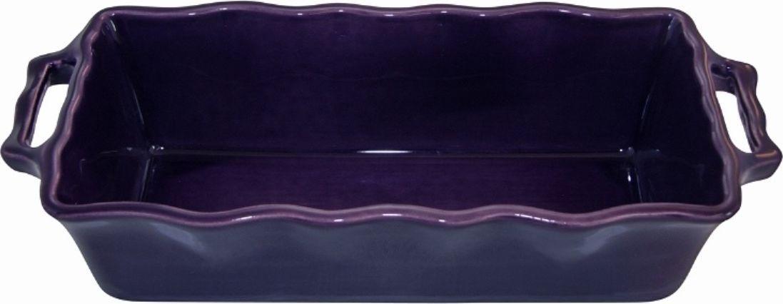 Форма для кекса Appolia Delices, цвет: баклажановый, 2 л112033026Форма для кекса Appolia Delices изготовлена из керамики с глазурированным покрытием. Прочная жароустойчивая керамика экологична и изготавливается из высококачественной глины. Прочная глазурь устойчива к растрескиванию и сколам, не содержит свинца и кадмия. Форма удобна при использовании. Закругленные углы облегчают чистку.