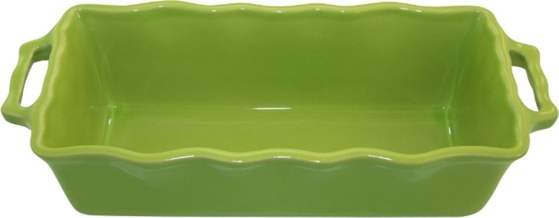 Форма для кекса Appolia Delices, цвет: лаймовый, 2 л112033027Благодаря большому разнообразию изящных форм и широкой цветовой гамме, коллекция DELICES предлагает всевозможные варианты приготовления блюд для себя и гостей. Выбирайте цвета в соответствии с вашими желаниями и вашей кухне. Закругленные углы облегчают чистку. Легко использовать. Большие удобные ручки. Прочная жароустойчивая керамика экологична и изготавливается из высококачественной глины. Прочная глазурь устойчива к растрескиванию и сколам, не содержит свинца и кадмия. Глина обеспечивает медленный и равномерный нагрев, деликатное приготовление с сохранением всех питательных веществ и витаминов, а та же долго сохраняет тепло, что удобно при сервировке горячих блюд.