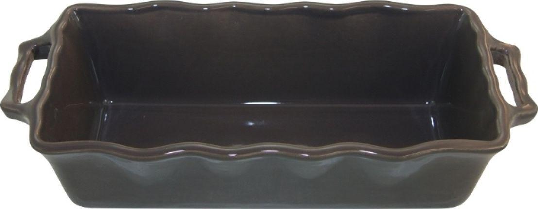 Форма для кекса Appolia Delices, цвет: темно-серый, 2 л112033044Благодаря большому разнообразию изящных форм и широкой цветовой гамме, коллекция DELICES предлагает всевозможные варианты приготовления блюд для себя и гостей. Выбирайте цвета в соответствии с вашими желаниями и вашей кухне. Закругленные углы облегчают чистку. Легко использовать. Большие удобные ручки. Прочная жароустойчивая керамика экологична и изготавливается из высококачественной глины. Прочная глазурь устойчива к растрескиванию и сколам, не содержит свинца и кадмия. Глина обеспечивает медленный и равномерный нагрев, деликатное приготовление с сохранением всех питательных веществ и витаминов, а та же долго сохраняет тепло, что удобно при сервировке горячих блюд.
