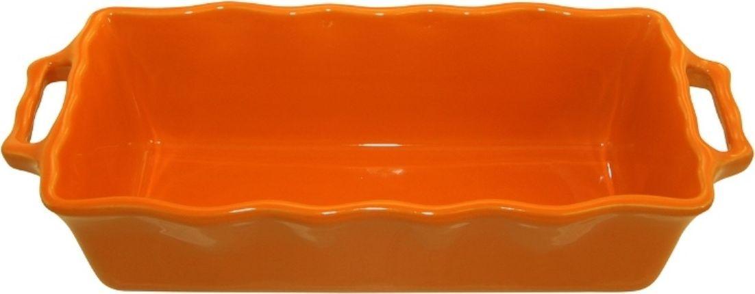 Форма для кекса Appolia Delices, цвет: мандариновый, 2 л112033073Благодаря большому разнообразию изящных форм и широкой цветовой гамме, коллекция DELICES предлагает всевозможные варианты приготовления блюд для себя и гостей. Выбирайте цвета в соответствии с вашими желаниями и вашей кухне. Закругленные углы облегчают чистку. Легко использовать. Большие удобные ручки. Прочная жароустойчивая керамика экологична и изготавливается из высококачественной глины. Прочная глазурь устойчива к растрескиванию и сколам, не содержит свинца и кадмия. Глина обеспечивает медленный и равномерный нагрев, деликатное приготовление с сохранением всех питательных веществ и витаминов, а та же долго сохраняет тепло, что удобно при сервировке горячих блюд.
