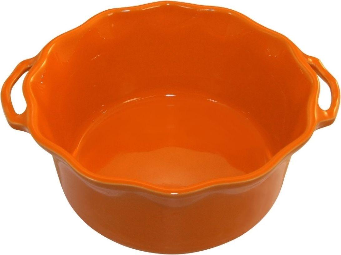 Форма для суфле Appolia Delices, цвет: мандариновый, 2,2 л113025073Благодаря большому разнообразию изящных форм и широкой цветовой гамме, коллекция DELICES предлагает всевозможные варианты приготовления блюд для себя и гостей. Выбирайте цвета в соответствии с вашими желаниями и вашей кухне. Закругленные углы облегчают чистку. Легко использовать. Большие удобные ручки. Прочная жароустойчивая керамика экологична и изготавливается из высококачественной глины. Прочная глазурь устойчива к растрескиванию и сколам, не содержит свинца и кадмия. Глина обеспечивает медленный и равномерный нагрев, деликатное приготовление с сохранением всех питательных веществ и витаминов, а та же долго сохраняет тепло, что удобно при сервировке горячих блюд.