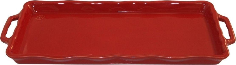 Форма для выпечки Appolia Delices, цвет: красный, 41 х 18,2 х 3,1 см114041020Благодаря большому разнообразию изящных форм и широкой цветовой гамме, коллекция DELICES предлагает всевозможные варианты приготовления блюд для себя и гостей. Выбирайте цвета в соответствии с вашими желаниями и вашей кухне. Закругленные углы облегчают чистку. Легко использовать. Большие удобные ручки. Прочная жароустойчивая керамика экологична и изготавливается из высококачественной глины. Прочная глазурь устойчива к растрескиванию и сколам, не содержит свинца и кадмия. Глина обеспечивает медленный и равномерный нагрев, деликатное приготовление с сохранением всех питательных веществ и витаминов, а та же долго сохраняет тепло, что удобно при сервировке горячих блюд.