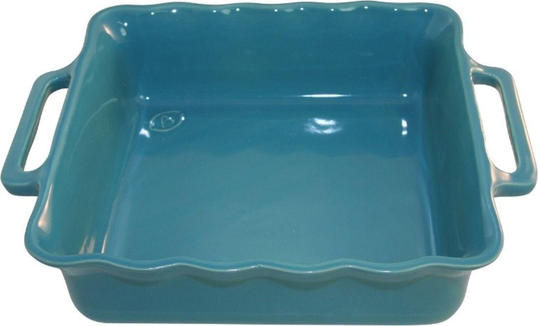 Форма для выпечки Appolia Delices, квадратная, цвет: голубой, 1,65 л140024571Благодаря большому разнообразию изящных форм и широкой цветовой гамме, коллекция DELICES предлагает всевозможные варианты приготовления блюд для себя и гостей. Выбирайте цвета в соответствии с вашими желаниями и вашей кухне. Закругленные углы облегчают чистку. Легко использовать. Большие удобные ручки. Прочная жароустойчивая керамика экологична и изготавливается из высококачественной глины. Прочная глазурь устойчива к растрескиванию и сколам, не содержит свинца и кадмия. Глина обеспечивает медленный и равномерный нагрев, деликатное приготовление с сохранением всех питательных веществ и витаминов, а та же долго сохраняет тепло, что удобно при сервировке горячих блюд.