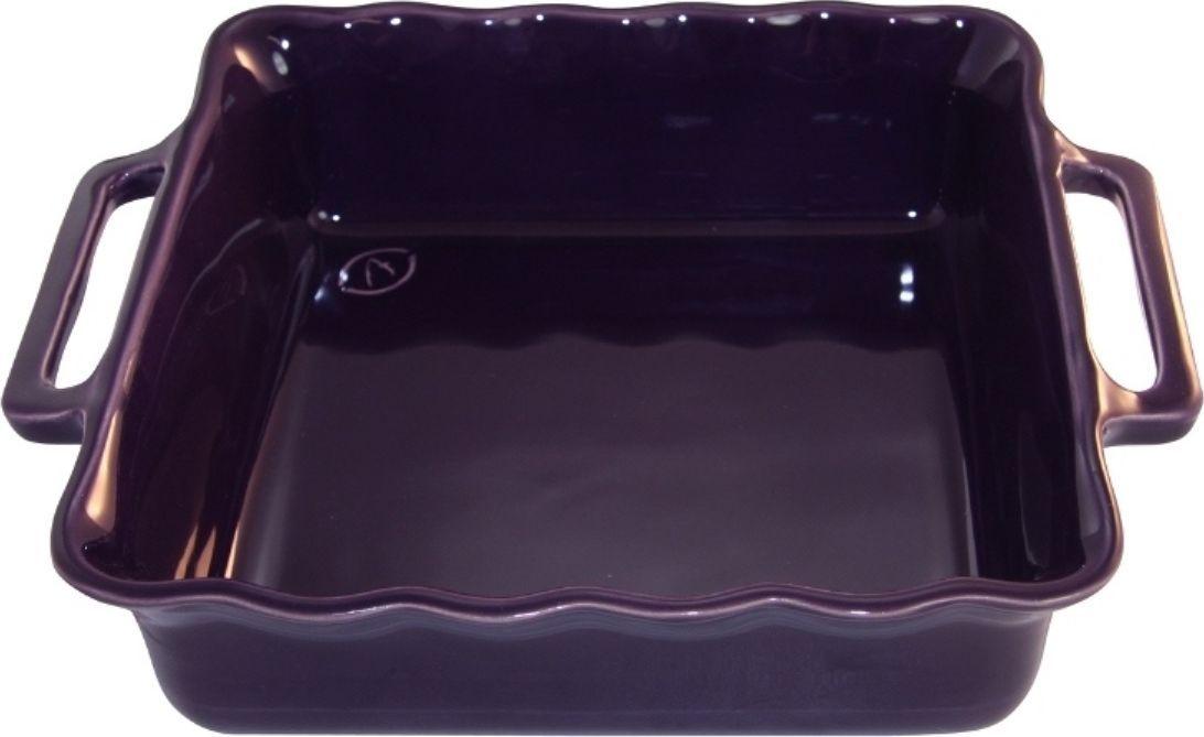 Форма для выпечки Appolia Delices, квадратная, цвет: баклажановый, 2,2 л140027526Благодаря большому разнообразию изящных форм и широкой цветовой гамме, коллекция DELICES предлагает всевозможные варианты приготовления блюд для себя и гостей. Выбирайте цвета в соответствии с вашими желаниями и вашей кухне. Закругленные углы облегчают чистку. Легко использовать. Большие удобные ручки. Прочная жароустойчивая керамика экологична и изготавливается из высококачественной глины. Прочная глазурь устойчива к растрескиванию и сколам, не содержит свинца и кадмия. Глина обеспечивает медленный и равномерный нагрев, деликатное приготовление с сохранением всех питательных веществ и витаминов, а та же долго сохраняет тепло, что удобно при сервировке горячих блюд.