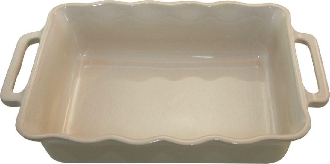 Форма для выпечки Appolia Delices, прямоугольная, цвет: кремовый, 2,6 л141034006Благодаря большому разнообразию изящных форм и широкой цветовой гамме, коллекция DELICES предлагает всевозможные варианты приготовления блюд для себя и гостей. Выбирайте цвета в соответствии с вашими желаниями и вашей кухне. Закругленные углы облегчают чистку. Легко использовать. Большие удобные ручки. Прочная жароустойчивая керамика экологична и изготавливается из высококачественной глины. Прочная глазурь устойчива к растрескиванию и сколам, не содержит свинца и кадмия. Глина обеспечивает медленный и равномерный нагрев, деликатное приготовление с сохранением всех питательных веществ и витаминов, а та же долго сохраняет тепло, что удобно при сервировке горячих блюд.
