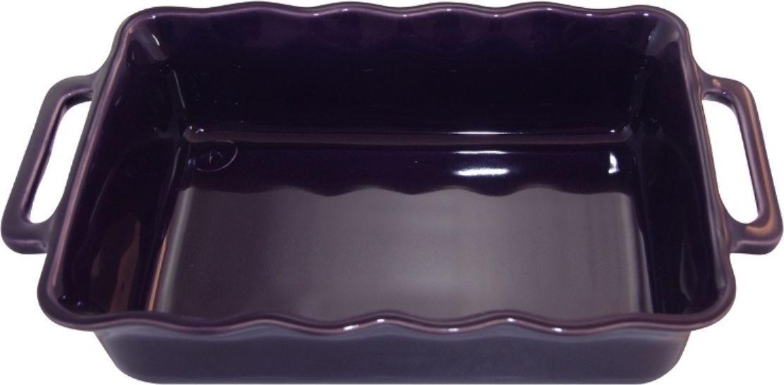 Форма для выпечки Appolia Delices, прямоугольная, цвет: баклажановый, 2,6 л141034026Благодаря большому разнообразию изящных форм и широкой цветовой гамме, коллекция DELICES предлагает всевозможные варианты приготовления блюд для себя и гостей. Выбирайте цвета в соответствии с вашими желаниями и вашей кухне. Закругленные углы облегчают чистку. Легко использовать. Большие удобные ручки. Прочная жароустойчивая керамика экологична и изготавливается из высококачественной глины. Прочная глазурь устойчива к растрескиванию и сколам, не содержит свинца и кадмия. Глина обеспечивает медленный и равномерный нагрев, деликатное приготовление с сохранением всех питательных веществ и витаминов, а та же долго сохраняет тепло, что удобно при сервировке горячих блюд.