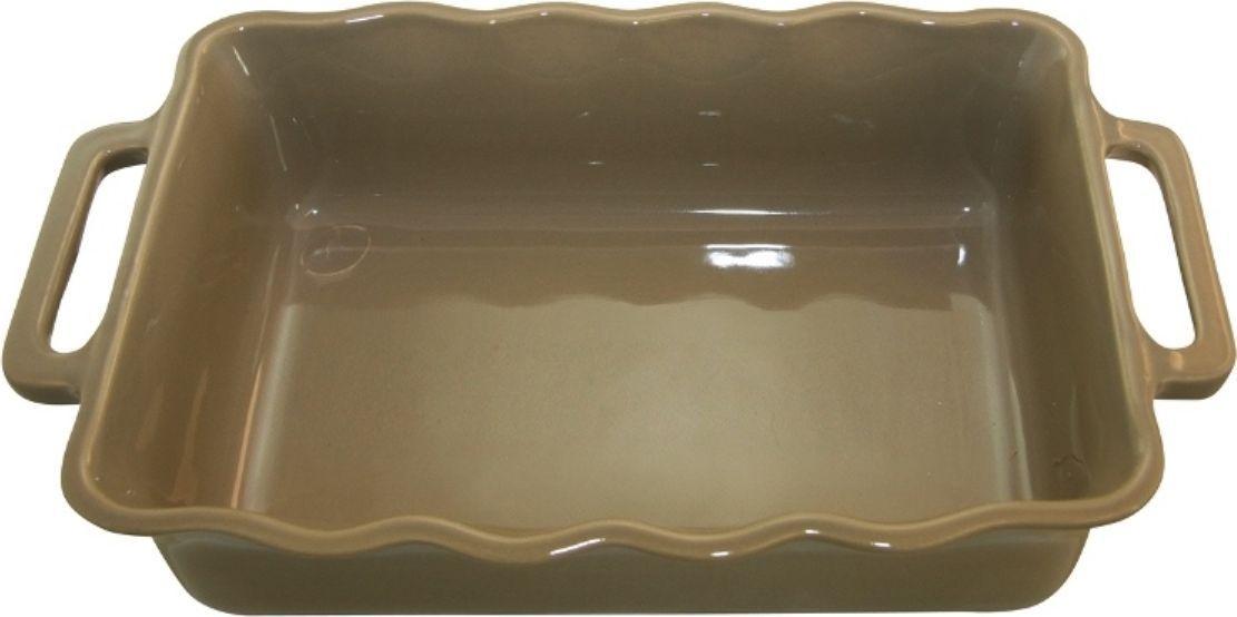 Форма для выпечки Appolia Delices, прямоугольная, цвет: песочный, 4 л141037519Благодаря большому разнообразию изящных форм и широкой цветовой гамме, коллекция DELICES предлагает всевозможные варианты приготовления блюд для себя и гостей. Выбирайте цвета в соответствии с вашими желаниями и вашей кухне. Закругленные углы облегчают чистку. Легко использовать. Большие удобные ручки. Прочная жароустойчивая керамика экологична и изготавливается из высококачественной глины. Прочная глазурь устойчива к растрескиванию и сколам, не содержит свинца и кадмия. Глина обеспечивает медленный и равномерный нагрев, деликатное приготовление с сохранением всех питательных веществ и витаминов, а та же долго сохраняет тепло, что удобно при сервировке горячих блюд.