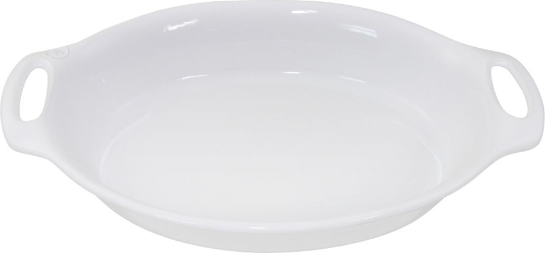 Форма для выпечки Appolia Harmonie, овальная, цвет: белый, 4,6 л223244501Одна из новейших коллекций Harmonie выполнена в современном стиле. 7 модных цветов. Выполненная из Eco-пасты Ceram , как и другие коллекции, он предлагает много возможностей. В ней можно запекать разнообразные блюда, а так же использовать при сервировке, подавая готовый кулинарный шедевр сразу на обеденный стол. Закругленные углы облегчают чистку. Легко использовать. Большие удобные ручки. Прочная жароустойчивая керамика экологична и изготавливается из высококачественной глины. Прочная глазурь устойчива к растрескиванию и сколам, не содержит свинца и кадмия. Глина обеспечивает медленный и равномерный нагрев, деликатное приготовление с сохранением всех питательных веществ и витаминов, а та же долго сохраняет тепло, что удобно при сервировке горячих блюд.