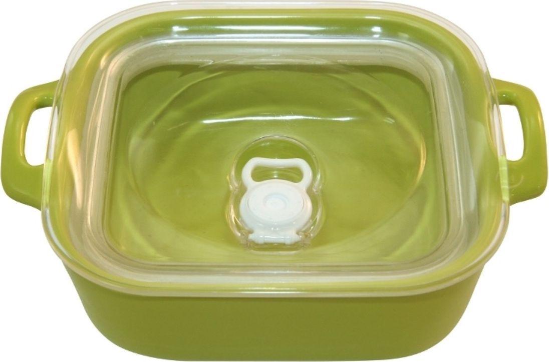 Форма для выпечки Appolia Harmonie, герметичная, квадратная, цвет: лаймовый, 1,1 л223321527Одна из новейших коллекций Harmonie выполнена в современном стиле. 7 модных цветов. Выполненная из Eco-пасты Ceram , как и другие коллекции, он предлагает много возможностей. В ней можно запекать разнообразные блюда, а так же использовать при сервировке, подавая готовый кулинарный шедевр сразу на обеденный стол. Закругленные углы облегчают чистку. Легко использовать. Большие удобные ручки. Прочная жароустойчивая керамика экологична и изготавливается из высококачественной глины. Прочная глазурь устойчива к растрескиванию и сколам, не содержит свинца и кадмия. Глина обеспечивает медленный и равномерный нагрев, деликатное приготовление с сохранением всех питательных веществ и витаминов, а та же долго сохраняет тепло, что удобно при сервировке горячих блюд.