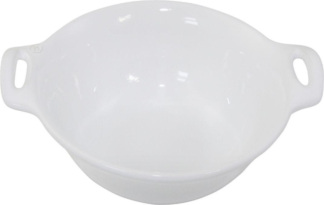 Салатник Appolia Harmonie, цвет: белый, 1,6 л223525501Одна из новейших коллекций Harmonie выполнена в современном стиле. 7 модных цветов. Выполненная из Eco-пасты Ceram , как и другие коллекции, он предлагает много возможностей. В ней можно запекать разнообразные блюда, а так же использовать при сервировке, подавая готовый кулинарный шедевр сразу на обеденный стол. Закругленные углы облегчают чистку. Легко использовать. Большие удобные ручки. Прочная жароустойчивая керамика экологична и изготавливается из высококачественной глины. Прочная глазурь устойчива к растрескиванию и сколам, не содержит свинца и кадмия. Глина обеспечивает медленный и равномерный нагрев, деликатное приготовление с сохранением всех питательных веществ и витаминов, а та же долго сохраняет тепло, что удобно при сервировке горячих блюд.
