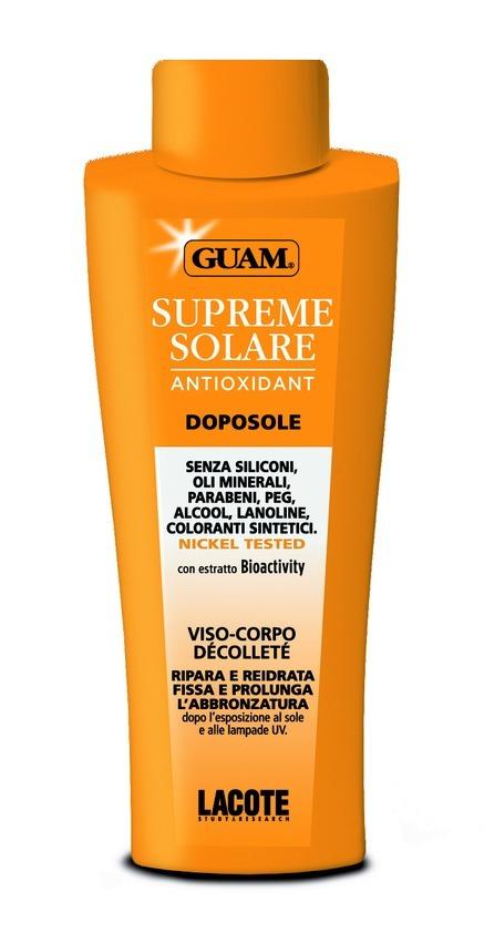 Guam Крем после загара Solare, 150 мл0797Идеально использовать при наличии красноты, вызванной чрезмерным воздействием солнечных лучей. Нежная текстура крема успокаивает и мгновенно возвращает коже ощущение комфорта. Снимает раздражения и устраняет ощущения жжения.