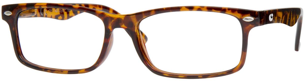CentroStyle Очки для чтения +2.00, цвет: коричневый нате маяковские чтения