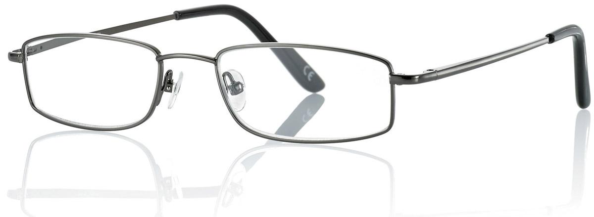 CentroStyle Очки для чтения +2.00, цвет: серый нате маяковские чтения