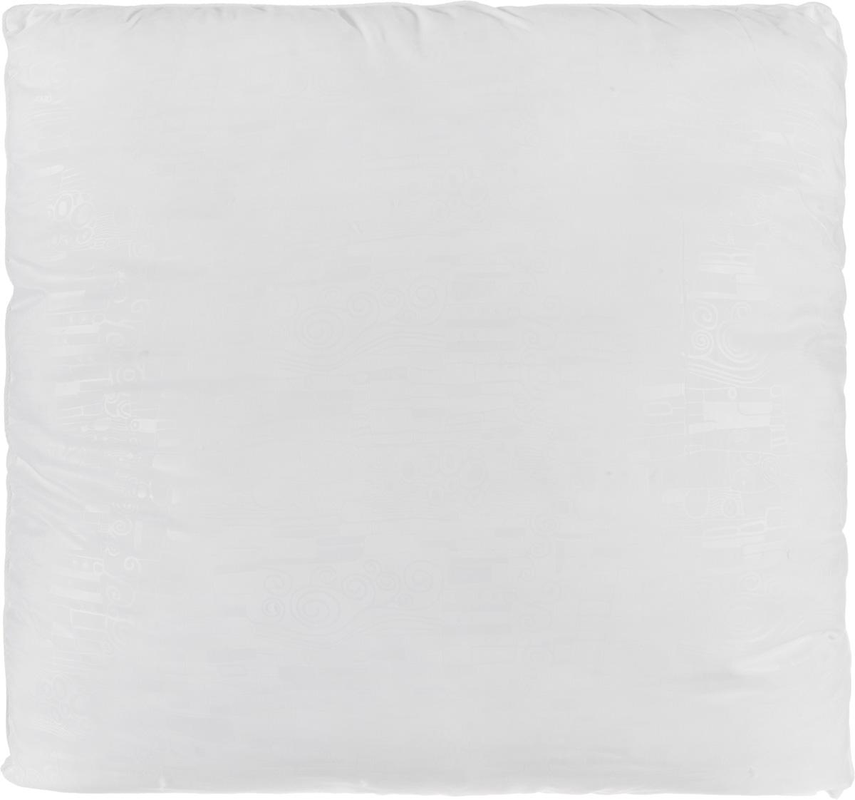 Подушка Smart Textile Безмятежность, наполнитель: лебяжий пух, цвет: белый, 70 х 70 смВZ15Удобная и мягкая подушка Smart Textile Безмятежность подарит здоровый сон и отличный отдых. Чехол подушки на молнии выполнен из микрофибры с красивым узором. В качестве наполнителя используется лебяжий пух. Лебяжий пух - это 100% сверхтонкое высокосиликонизированное волокно. Такой наполнитель мягкий, приятный на ощупь и гипоаллергенный. Подушка удобна в эксплуатации: легко стирается, быстро сохнет, сохраняя первоначальные свойства, устойчива к воздействию прямых солнечных лучей, износостойка и прочна. Изделие обладает высокой теплоизоляционной способностью - не вызывает перегрева головы. Подушка обеспечит правильную поддержку головы и шеи во время сна. Наполнитель не сбивается в комки и сохраняет тепло. Подушка с этим наполнителем подойдет людям, склонным к аллергии, так как отталкивает пыль и не впитывает запахи.