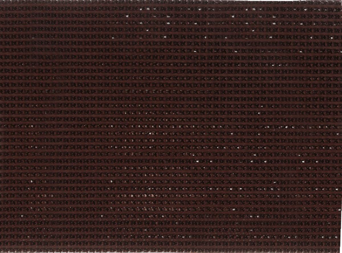 Коврик придверный InLoran, щетинистый, цвет: темный шоколад, 45 х 60 см40-4562Коврик придверный InLoran выполнен из полиэтилена высокого давления и полипропилена. Изделие обладает щетиной в форме тюльпана, которая эффективно задерживает грязь. Такой коврик надежно защитит помещение от уличной пыли и грязи. Легко чистится и моется.