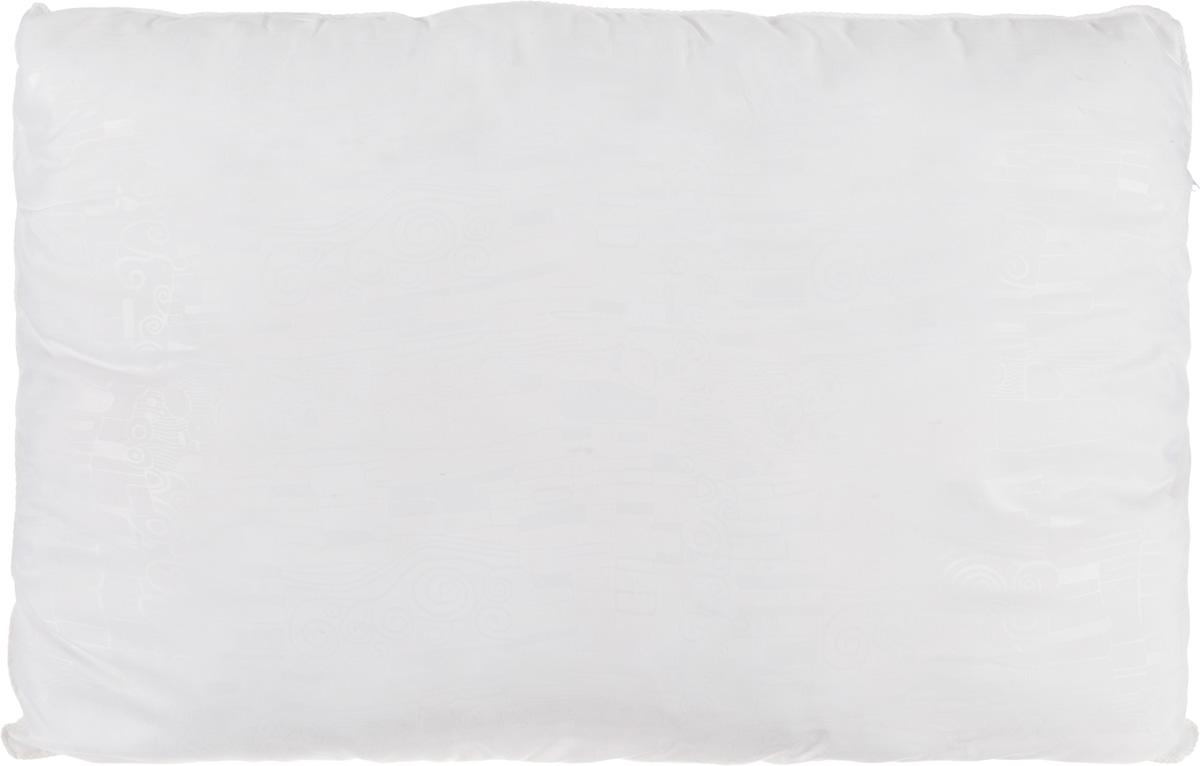 Подушка Smart Textile Безмятежность, наполнитель: лебяжий пух, цвет: белый, 50 х 70 смВZ14Удобная и мягкая подушка Smart Textile Безмятежность подарит здоровый сон и отличный отдых. Чехол подушки на молнии выполнен из микрофибры с красивым узором. В качестве наполнителя используется лебяжий пух. Лебяжий пух - это 100% сверхтонкое высокосиликонизированное волокно. Такой наполнитель мягкий, приятный на ощупь и гипоаллергенный. Подушка удобна в эксплуатации: легко стирается, быстро сохнет, сохраняя первоначальные свойства, устойчива к воздействию прямых солнечных лучей, износостойка и прочна. Изделие обладает высокой теплоизоляционной способностью - не вызывает перегрева головы. Подушка обеспечит правильную поддержку головы и шеи во время сна. Наполнитель не сбивается в комки и сохраняет тепло. Подушка с этим наполнителем подойдет людям, склонным к аллергии, так как отталкивает пыль и не впитывает запахи.