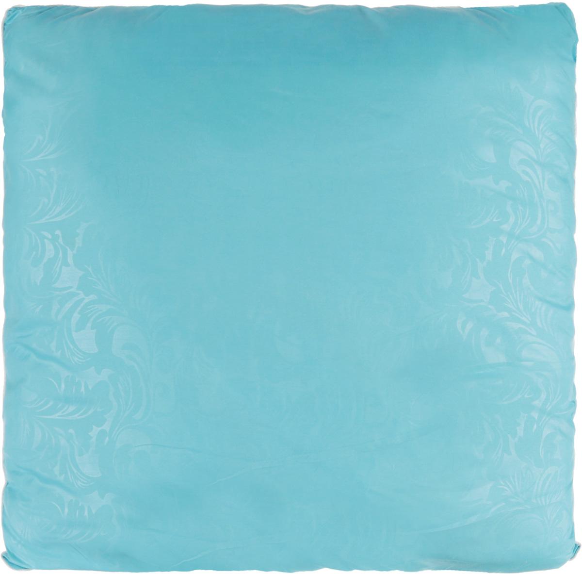 Подушка Smart Textile Безмятежность, наполнитель: лебяжий пух, цвет: голубой, 70 х 70 смВZ03Удобная и мягкая подушка Smart Textile Безмятежность подарит здоровый сон и отличный отдых. Чехол подушки на молнии выполнен из микрофибры с красивым узором. В качестве наполнителя используется лебяжий пух. Лебяжий пух - это 100% сверхтонкое высокосиликонизированное волокно. Такой наполнитель мягкий, приятный на ощупь и гипоаллергенный. Подушка удобна в эксплуатации: легко стирается, быстро сохнет, сохраняя первоначальные свойства, устойчива к воздействию прямых солнечных лучей, износостойка и прочна. Изделие обладает высокой теплоизоляционной способностью - не вызывает перегрева головы. Подушка обеспечит правильную поддержку головы и шеи во время сна. Наполнитель не сбивается в комки и сохраняет тепло. Подушка с этим наполнителем подойдет людям, склонным к аллергии, так как отталкивает пыль и не впитывает запахи.