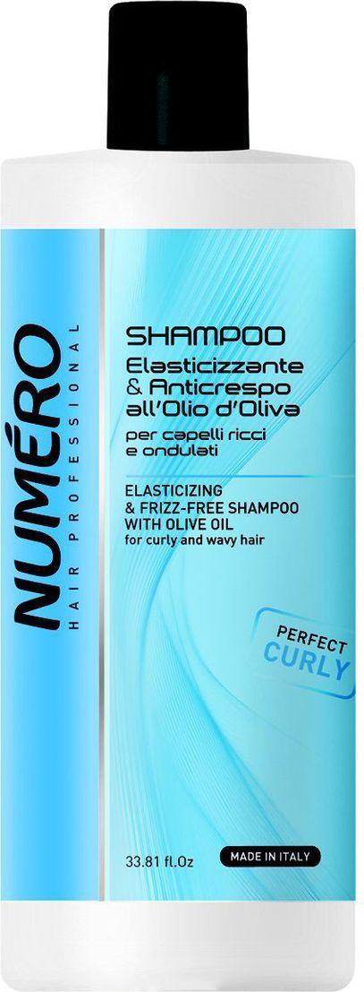 Brelil Numero Curl Шампунь с оливковым маслом для вьющихся и волнистых волос 1000 млB080101Для кудрявых и вьющихся волос. Шампунь мягко очищает кожу, укрепляет и формирирует локоны, придавая им упругость.