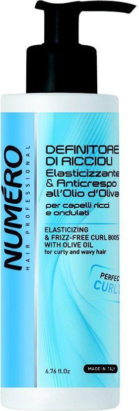 Brelil Numero Curl Гель для моделирования с оливковым маслом для вьющихся и волнистых волос 200 мл brelil numero curl маска с оливковым маслом для вьющихся и волнистых волос 1000 мл