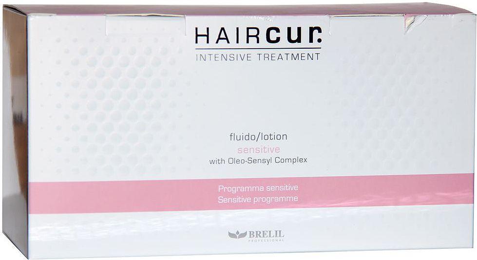Brelil Hair Cur Sensitive Soothing Lotion Лосьон успокаивающий для чувствительной кожи головы 10 ампул х 6 мл ollin фиксирующий лосьон curl hair fixing lotion 500 мл