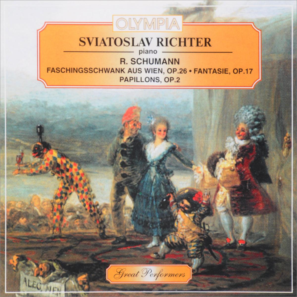 Sviatoslav Richter. R. Schumann. Faschingsschwank Aus Wien, Op. 26 / Fantasie, Op. 17 / Papillons, Op. 2