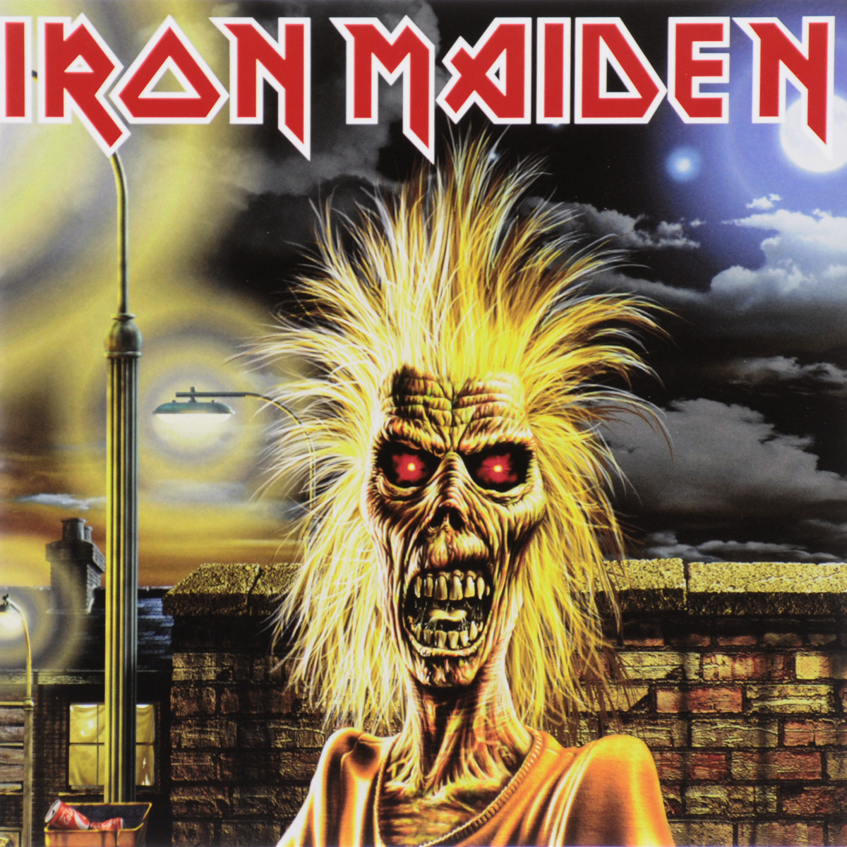 Iron Maiden Iron Maiden. Iron Maiden (ECD) cd iron maiden the number of the beast