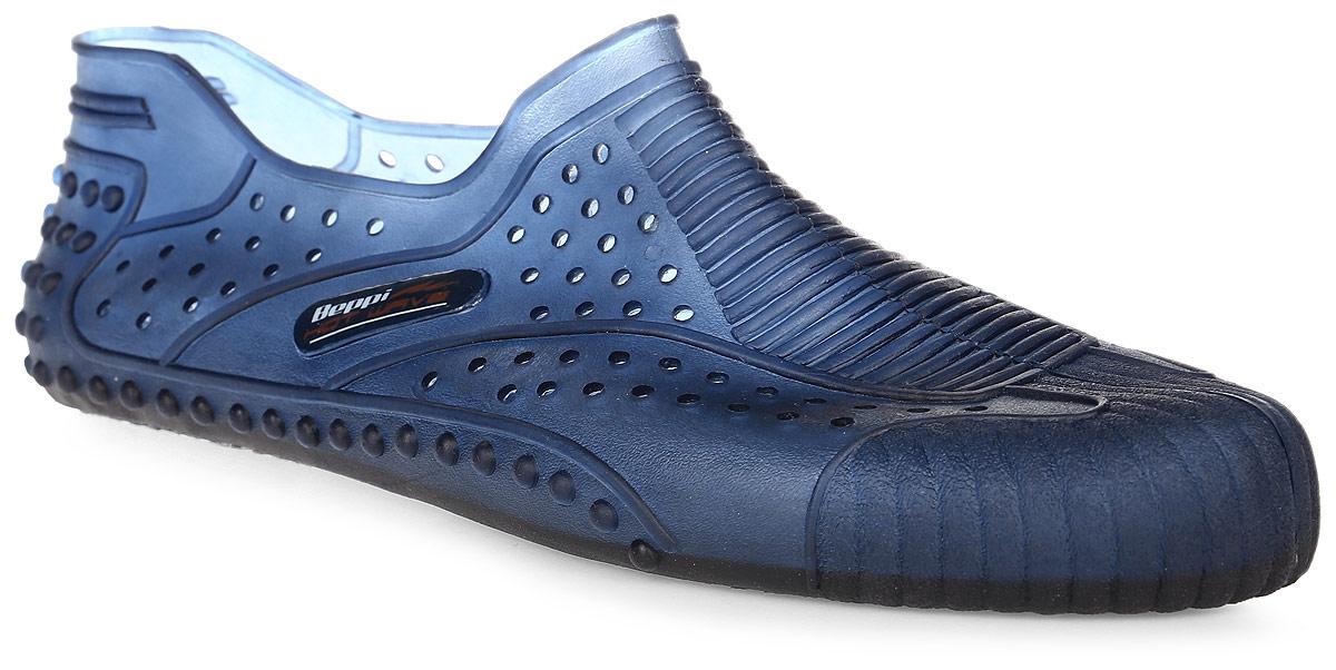 Обувь для кораллов мужская Beppi, цвет: синий. 2155280. Размер 412155280Обувь для кораллов Beppi предназначена для пляжного отдыха, плавания в открытой воде, а также для любых видов водного спорта. Модель выполнена гибкой безопасной резины с практичными отверстиями. Резиновая подошва удобна и защищает ступни ног при хождении по каменистому дну, а также от горячего песка при хождении по пляжу. Аквашузы очень легкие и быстро сохнут.