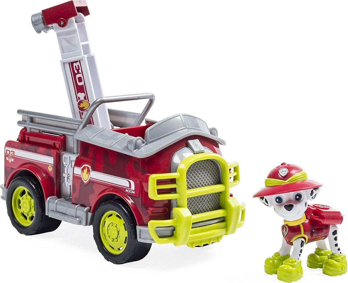 Paw Patrol Игровой набор Машина спасателя со щенком Маршалл
