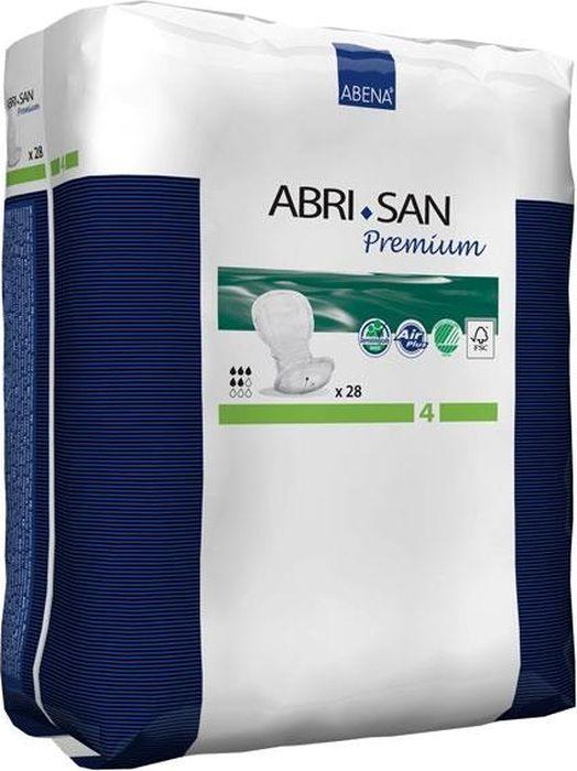 Abena Урологические прокладки Abri-San Premium 4 28 шт9271Урологические прокладки Abena Abri-San Premium - это удобные прокладки анатомической формы для всехстепеней недержания.Особенности: полностью дышащие –микропоры внешнего слоя позволяют коже дышать,поддерживают естественнуюциркуляцию воздуха под прокладкой/вкладышем, существенно уменьшая риск появления кожного дерматита икаких-либо других раздражений. Размер микропор слишком мал, чтобы пропустить жидкость, но достаточен длявоздухообмена анатомическая форма и многоуровневая защита от протеканий:несколько впитывающих слоев; высококачественный суперабсорбент, превращающий воду в гель; уникальная система Top Dry (Топ Драй), которая обеспечивает мгновенное впитывание жидкости и оставляетповерхность, соприкасаемую с кожей, сухой;впитывающие каналы быстро и равномерно распределяют жидкостьи надежно удерживают ее внутри в течениевсего использования; высокие влагоотталкивающие бортики, анатомически верно направленные (внутрь вкладыша), являются важнойсоставляющей эталонной защиты Abri-San. выполнены из мягких бесшумных материалов – мягкие и удобные прокладки и вкладыши Abri-San бесшумены инезаметны под одеждой, они не натирают и не оставляют следов даже на самой чувствительной кожесегментированный цветовой индикатор намокания на вкладышах наглядно показывает, насколько вкладышотработал себя. Желтые линии, меняя свой цвет на голубой, являются сигналом для пользователя, что подгузникпора заменить. Если при очередной смене вкладыша вы заметили, что сектора заполнены не полностью, то вследующий раз можно купить вкладыши с меньшей впитываемостью и сэкономить экомаркировка Скандинавии Белый лебедь - покупая продукт, отмеченный данной маркировкой, вы можете бытьуверены в его составеодобрено дерматологическим контролем - результаты клинических исследований подтверждают, что Abri-Formсделан из гипоаллергенных материалов и не оказывает негативного воздействия на кожуВпитываемость - 800 г.