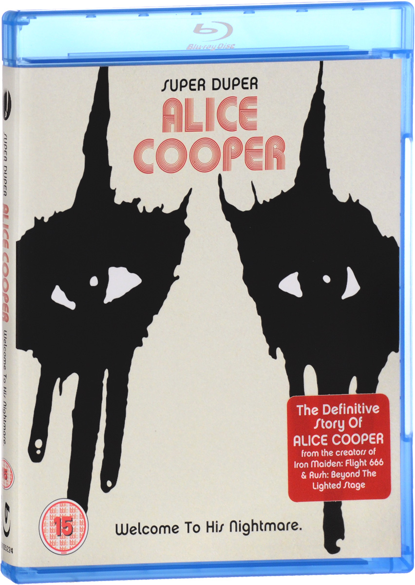 Alice Cooper: Super Duper Alice Cooper. Welcome To His Nightmare (Blu-ray) dendy walter cooper the islets of the channel