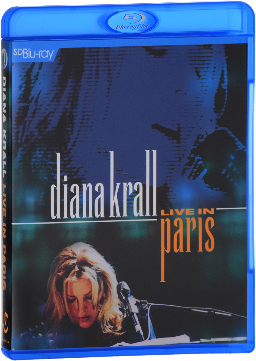 Diana Krall: Live In Paris (Blu-ray) diana krall – the girl in the other room 2 lp