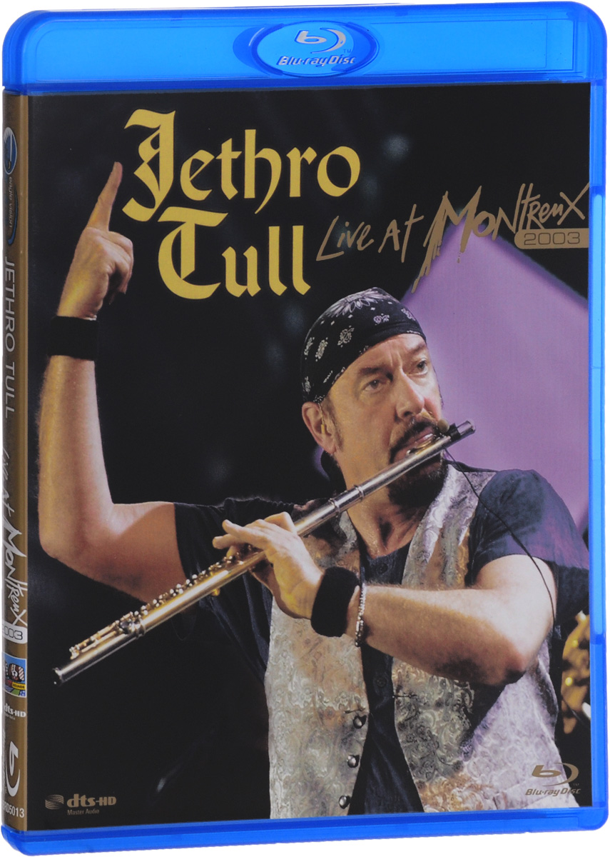 Jethro Tull: Live At Montreux 2003 (Blu-ray) ian anderson plays the orchestral jethro tull