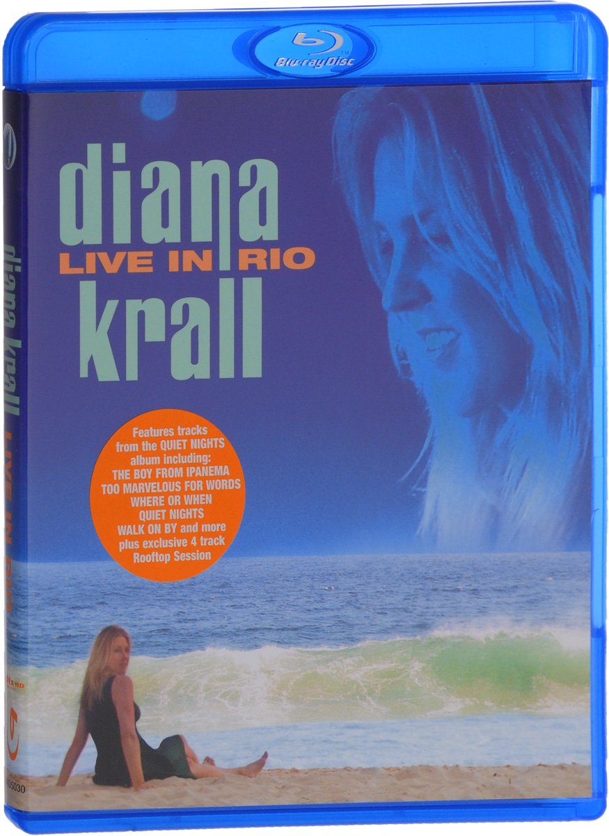 Diana Krall: Live In Rio (Blu-ray) дайана кролл diana krall quiet nights deluxe edition cd dvd