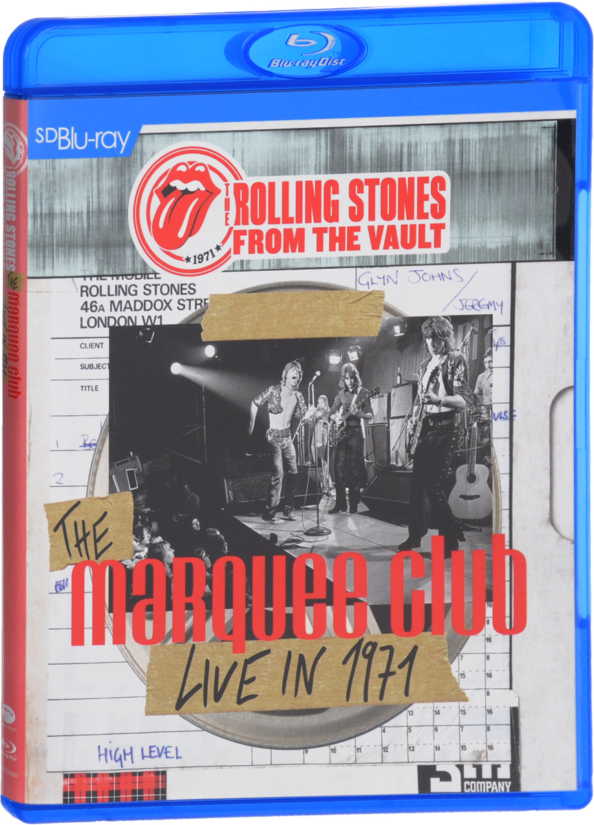 The Rolling Stones: From The Vault The Marquee Club Live In 1971 (Blu-ray) francis rossi live from st luke s london blu ray