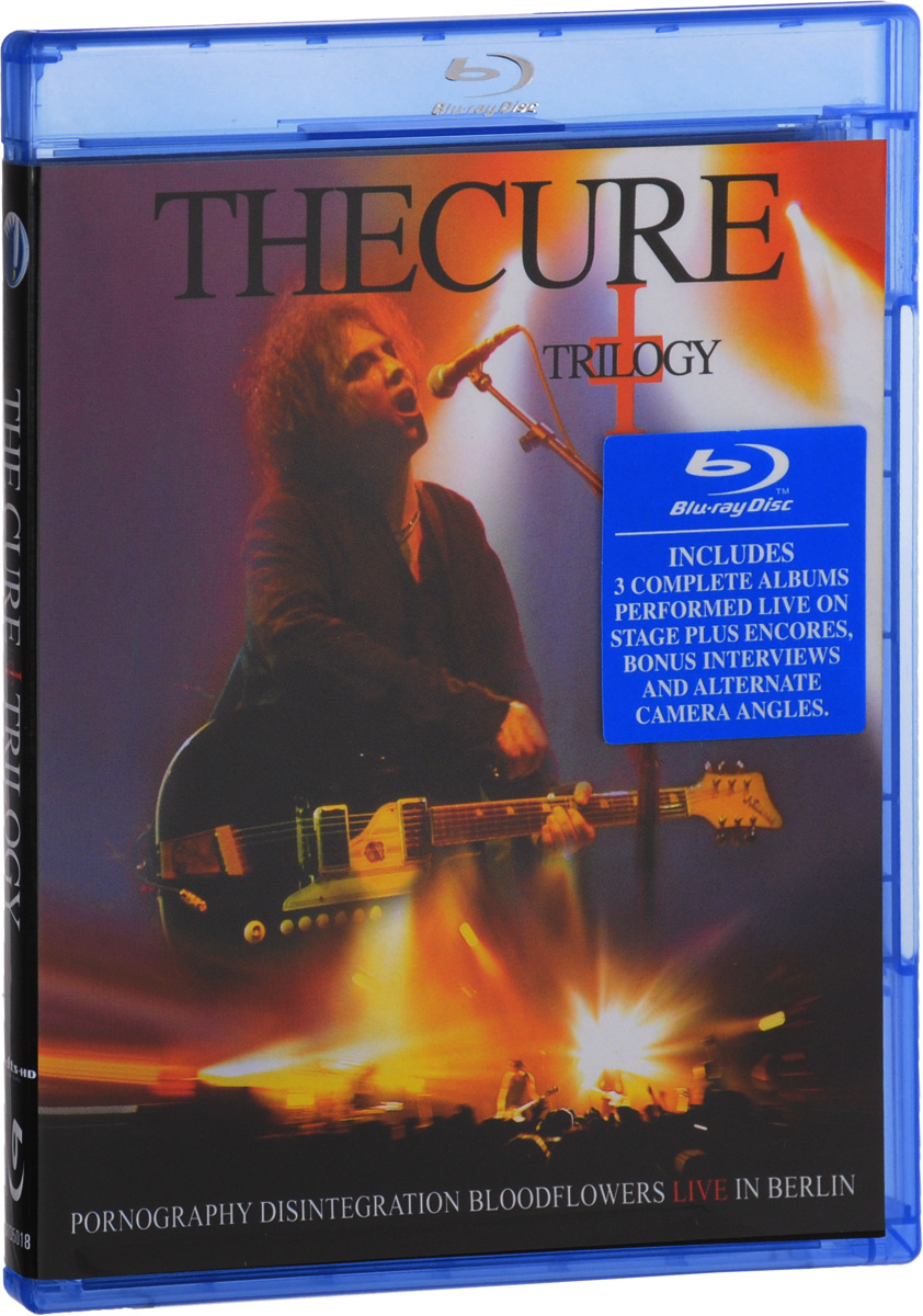 The Cure: Trilogy (Blu-ray) the salterton trilogy