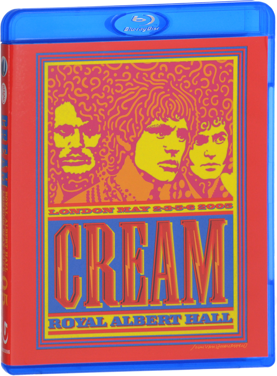 Cream: Royal Albert Hall. London May 2-3-5-6 2005 (Blu-ray)