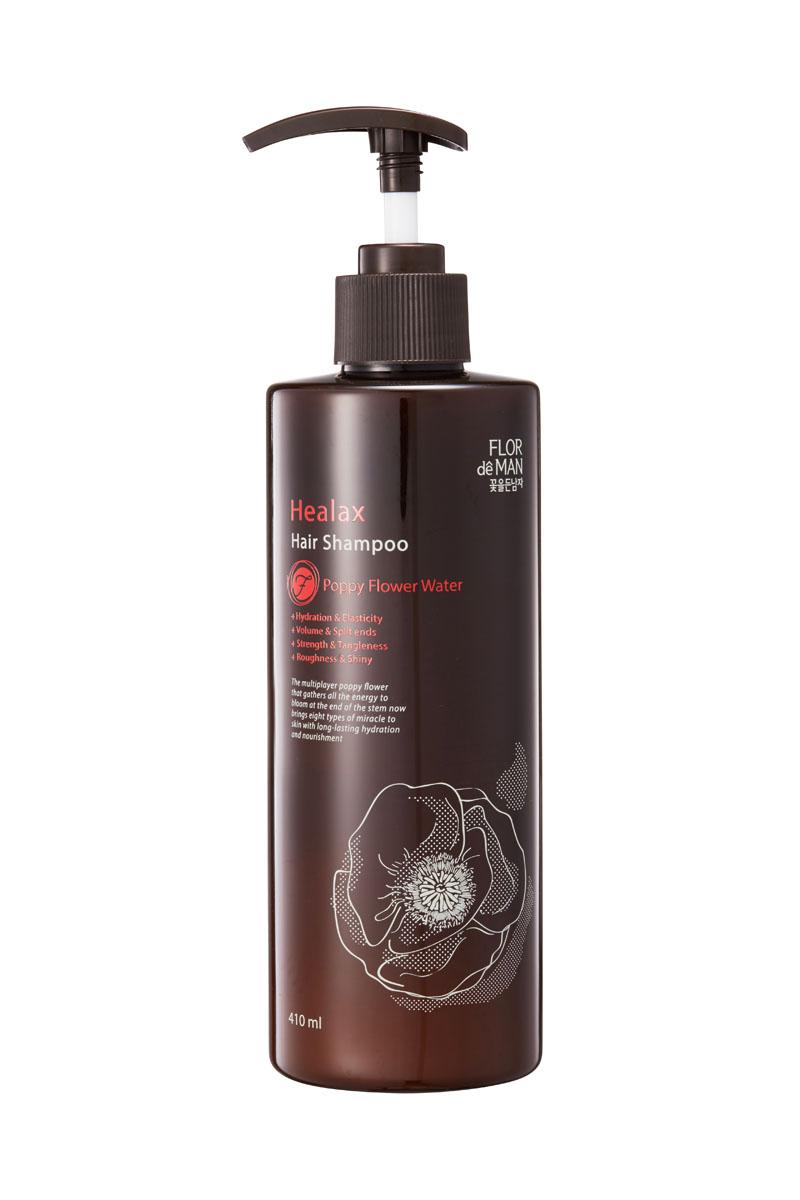 Flor de Man Восстанавливающий шампунь для волос Гиалакс, 410 млFDHLSP101Шампунь разработан специально для сухих и поврежденных волос. Отлично очищает кожу от избытков кожного сала и загрязнений. Благодаря экстракту розы, маслу макадамии и черному меду средство восстанавливает структуру волоса и возвращает им гладкость и упругость.