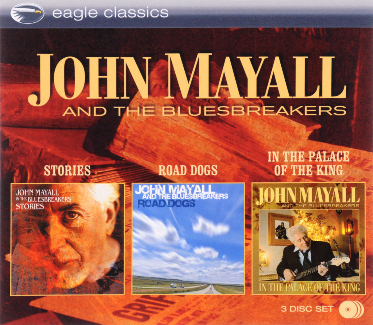 Джон Мэйолл,The Bluesbreakers John Mayall & The Bluesbreakers. Stories / Road Dogs / In The Palace Of The King (3 CD) велосипед wheeler eagle ltd 2013