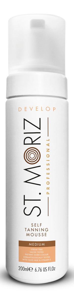 St. Moriz Автобронзант-мусс тонирующий Professional, светлый оттенок, 200 мл каталог st moriz