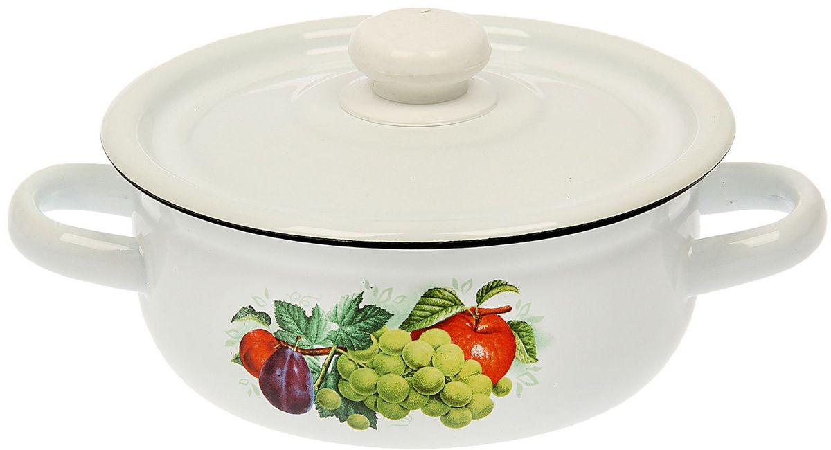 Эмалированная кастрюля пригодится вам для быстрого приготовления разных типов блюд. Такая посуда подходит для домашнего и профессионального использования.Кастрюля цилиндрическая — помощь на кухне на долгие годы.Достоинства:посуда быстро и равномерно нагревается;корпус стоек к ржавчине;изделие легко отмывается в посудомоечной машине.Благодаря приятным цветам кастрюля удачно впишется в любой дизайн интерьера. Наилучшее качество покрытия достигается за счёт того, что посуда проходит обжиг при температуре до 800 градусов.Чтобы предмет сохранял наилучшие эксплуатационные свойства, соблюдайте правила ухода:избегайте ударов и падений;не пользуйтесь высокоабразивными чистящими средствами;не допускайте резких перепадов температуры.Посуда подходит для долговременного хранения пищи.