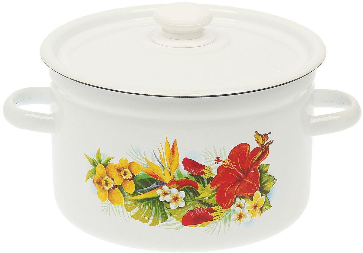 Кастрюля Epos Урания, 4,5 л1444486Эмалированная кастрюля пригодится вам для быстрого приготовления разных типов блюд. Такая посуда подходит для домашнего и профессионального использования.Кастрюля цилиндрическая — помощь на кухне на долгие годы.Достоинства:посуда быстро и равномерно нагревается;корпус стоек к ржавчине;изделие легко отмывается в посудомоечной машине.Благодаря приятным цветам кастрюля удачно впишется в любой дизайн интерьера. Наилучшее качество покрытия достигается за счёт того, что посуда проходит обжиг при температуре до 800 градусов.Чтобы предмет сохранял наилучшие эксплуатационные свойства, соблюдайте правила ухода:избегайте ударов и падений;не пользуйтесь высокоабразивными чистящими средствами;не допускайте резких перепадов температуры.Посуда подходит для долговременного хранения пищи.