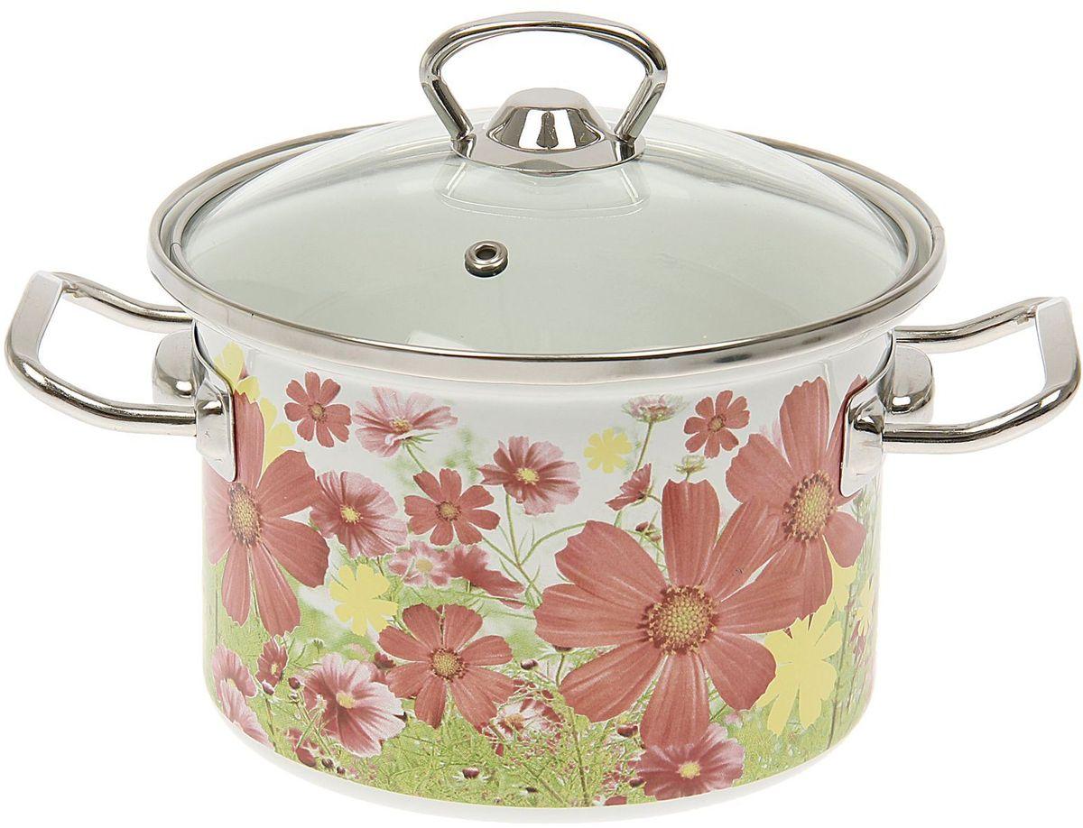 Кастрюля Epos Барыня, с крышкой, 2 л1444494Эмалированная кастрюля пригодится вам для быстрого приготовления разных типов блюд. Такая посуда подходит для домашнего и профессионального использования.Кастрюля цилиндрическая — помощь на кухне на долгие годы.Достоинства:посуда быстро и равномерно нагревается;корпус стоек к ржавчине;изделие легко отмывается в посудомоечной машине.Благодаря приятным цветам кастрюля удачно впишется в любой дизайн интерьера. Наилучшее качество покрытия достигается за счёт того, что посуда проходит обжиг при температуре до 800 градусов.Чтобы предмет сохранял наилучшие эксплуатационные свойства, соблюдайте правила ухода:избегайте ударов и падений;не пользуйтесь высокоабразивными чистящими средствами;не допускайте резких перепадов температуры.Посуда подходит для долговременного хранения пищи.