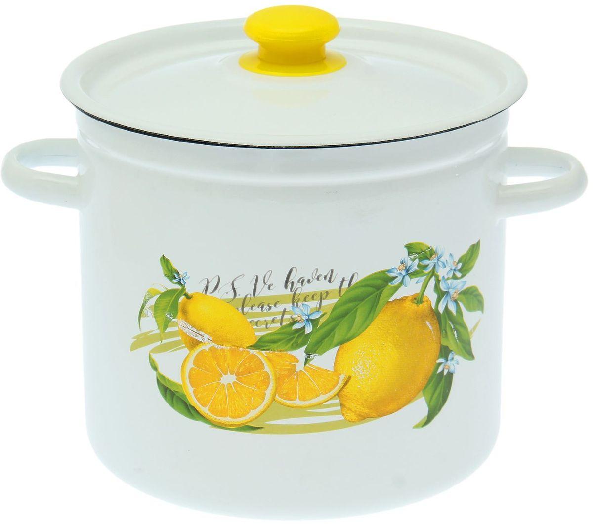 Кастрюля Epos Лимон, 7 л1721271Эмалированная кастрюля пригодится вам для быстрого приготовления разных типов блюд. Такая посуда подходит для домашнего и профессионального использования.Кастрюля цилиндрическая — помощь на кухне на долгие годы.Достоинства:посуда быстро и равномерно нагревается;корпус стоек к ржавчине;изделие легко отмывается в посудомоечной машине.Благодаря приятным цветам кастрюля удачно впишется в любой дизайн интерьера. Наилучшее качество покрытия достигается за счёт того, что посуда проходит обжиг при температуре до 800 градусов.Чтобы предмет сохранял наилучшие эксплуатационные свойства, соблюдайте правила ухода:избегайте ударов и падений;не пользуйтесь высокоабразивными чистящими средствами;не допускайте резких перепадов температуры.Посуда подходит для долговременного хранения пищи.