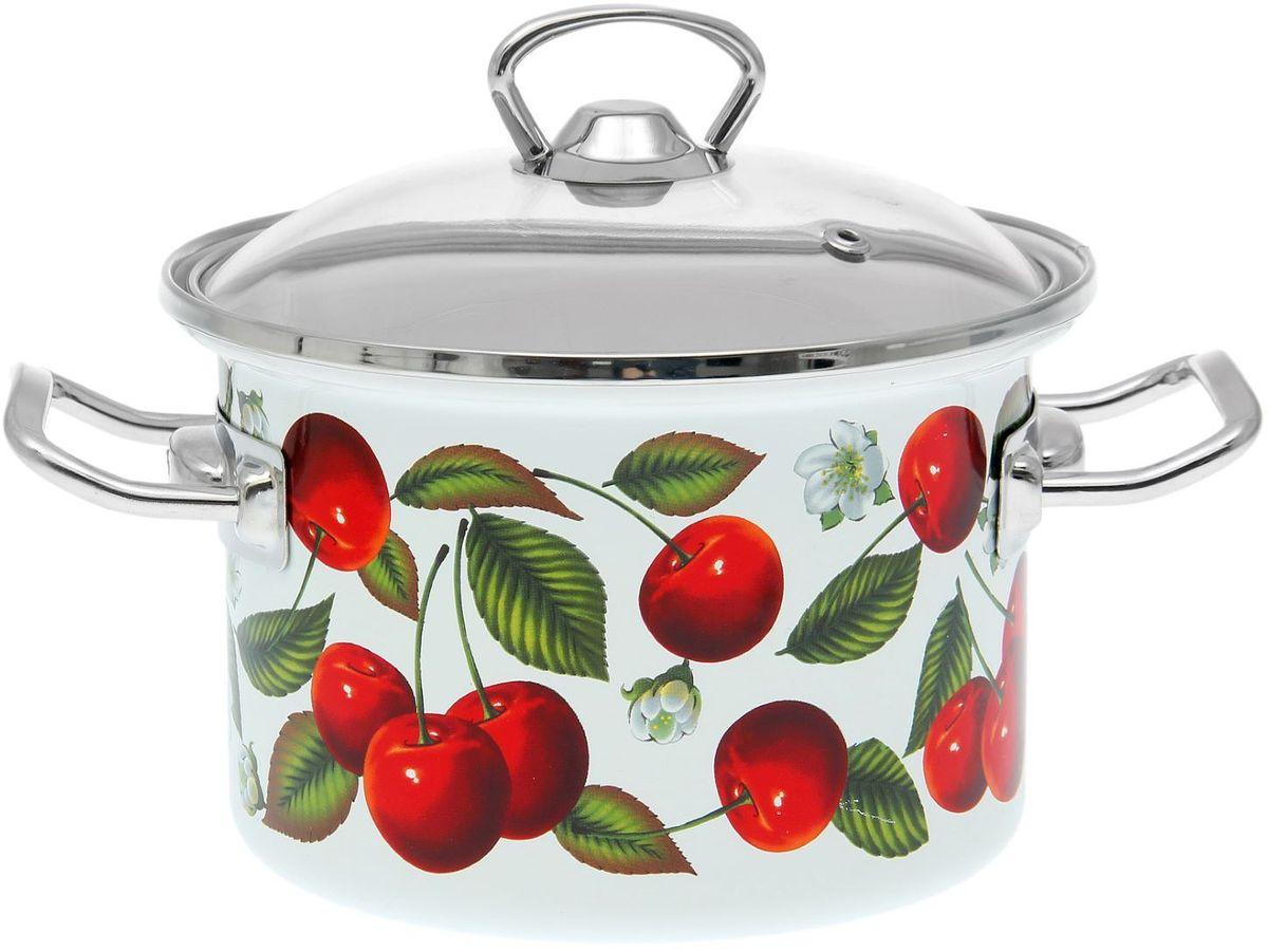 Кастрюля Epos Черешня, 2 л1721273Эмалированная кастрюля пригодится вам для быстрого приготовления разных типов блюд. Такая посуда подходит для домашнего и профессионального использования.Кастрюля цилиндрическая — помощь на кухне на долгие годы.Достоинства:посуда быстро и равномерно нагревается;корпус стоек к ржавчине;изделие легко отмывается в посудомоечной машине.Благодаря приятным цветам кастрюля удачно впишется в любой дизайн интерьера. Наилучшее качество покрытия достигается за счёт того, что посуда проходит обжиг при температуре до 800 градусов.Чтобы предмет сохранял наилучшие эксплуатационные свойства, соблюдайте правила ухода:избегайте ударов и падений;не пользуйтесь высокоабразивными чистящими средствами;не допускайте резких перепадов температуры.Посуда подходит для долговременного хранения пищи.