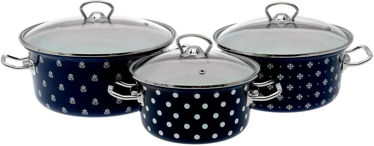 Набор кастрюль Epos Саксония, с крышками, 6 предметов. 17213081721308Эмалированная посудая пригодится вам для быстрого приготовления разных типов блюд. Такая посуда подходит для домашнего и профессионального использования.Достоинства:посуда быстро и равномерно нагревается;корпус стоек к ржавчине;изделие легко отмывается в посудомоечной машине.Благодаря приятным цветам кастрюля удачно впишется в любой дизайн интерьера. Наилучшее качество покрытия достигается за счёт того, что посуда проходит обжиг при температуре до 800 градусов.Чтобы предмет сохранял наилучшие эксплуатационные свойства, соблюдайте правила ухода:избегайте ударов и падений;не пользуйтесь высокоабразивными чистящими средствами;не допускайте резких перепадов температуры.Посуда подходит для долговременного хранения пищи.