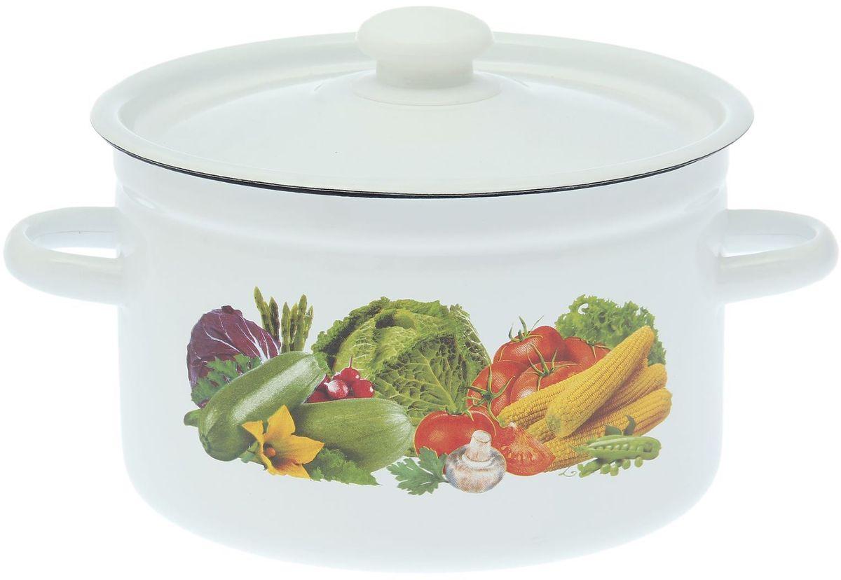 Кастрюля Epos Урожай, 4,5 л1770630Эмалированная кастрюля пригодится вам для быстрого приготовления разных типов блюд. Такая посуда подходит для домашнего и профессионального использования.Кастрюля цилиндрическая — помощь на кухне на долгие годы.Достоинства:посуда быстро и равномерно нагревается;корпус стоек к ржавчине;изделие легко отмывается в посудомоечной машине.Благодаря приятным цветам кастрюля удачно впишется в любой дизайн интерьера. Наилучшее качество покрытия достигается за счёт того, что посуда проходит обжиг при температуре до 800 градусов.Чтобы предмет сохранял наилучшие эксплуатационные свойства, соблюдайте правила ухода:избегайте ударов и падений;не пользуйтесь высокоабразивными чистящими средствами;не допускайте резких перепадов температуры.Посуда подходит для долговременного хранения пищи.