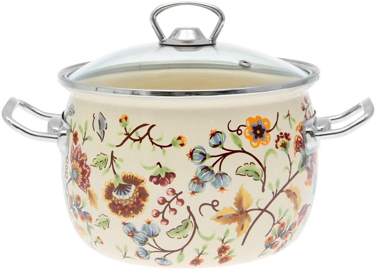 Кастрюля Epos Майолика, с крышкой, 3,5 л1770664Эмалированная кастрюля пригодится вам для быстрого приготовления разных типов блюд. Такая посуда подходит для домашнего и профессионального использования.Достоинства:посуда быстро и равномерно нагревается;корпус стоек к ржавчине;изделие легко отмывается в посудомоечной машине.Благодаря приятным цветам кастрюля удачно впишется в любой дизайн интерьера. Наилучшее качество покрытия достигается за счёт того, что посуда проходит обжиг при температуре до 800 градусов.Чтобы предмет сохранял наилучшие эксплуатационные свойства, соблюдайте правила ухода:избегайте ударов и падений;не пользуйтесь высокоабразивными чистящими средствами;не допускайте резких перепадов температуры.Посуда подходит для долговременного хранения пищи.